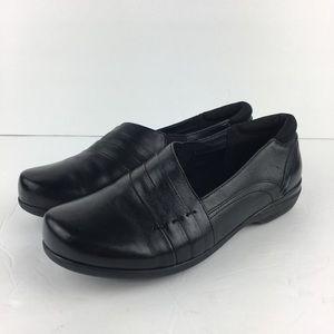 """Abeo Black Slip On Loafers Size 6.5 """"Adele"""""""